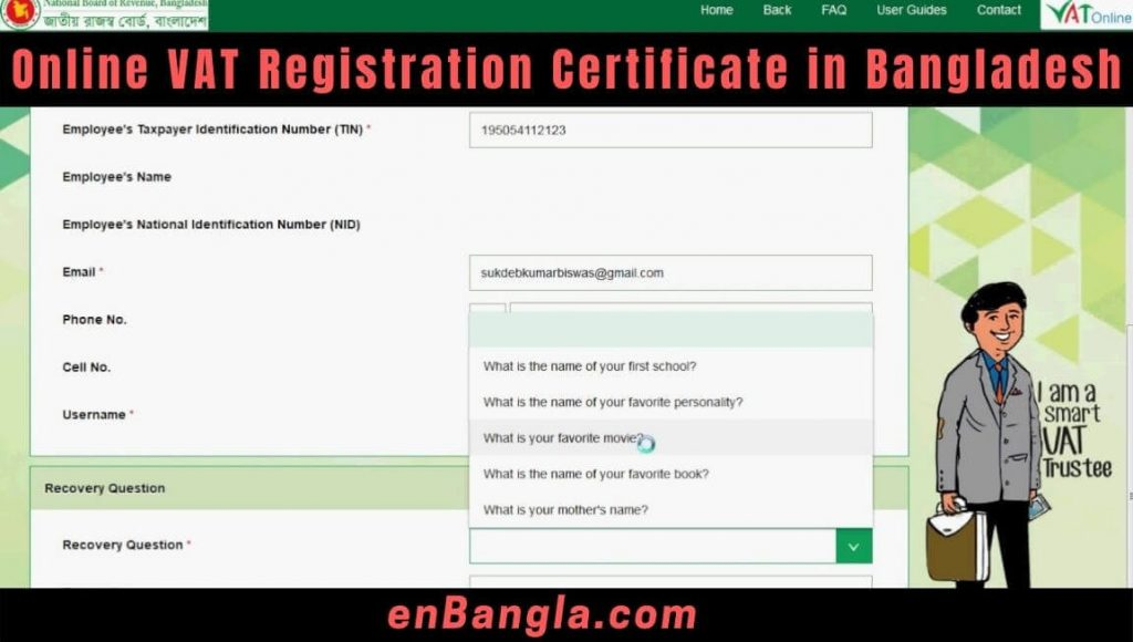 How to Obtain Online VAT Registration Certificate in Bangladesh