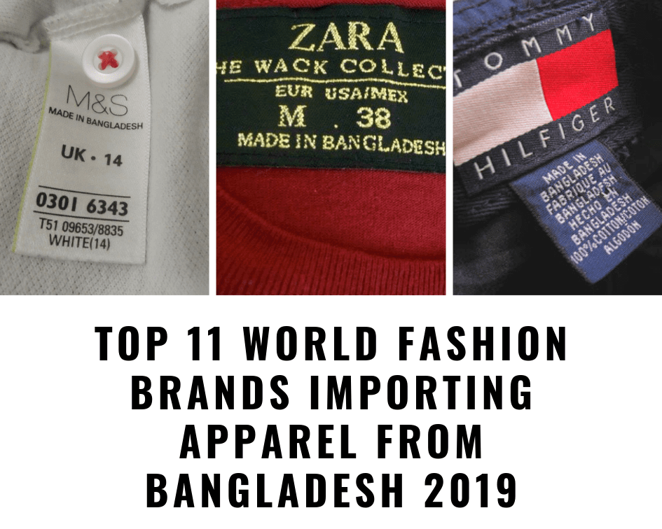 Fashion Brands Importing Apparel from Bangladesh